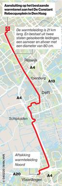 Warmtenet van Rotterdam naar Den Haag / Hans van Kralingen
