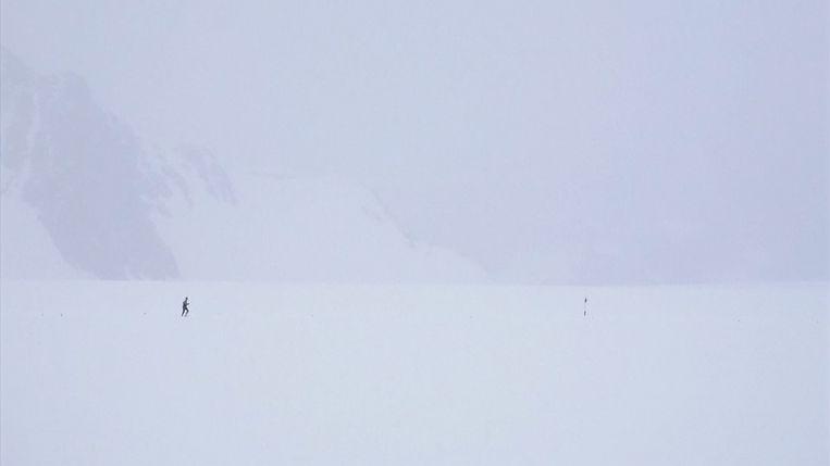Marathon op de Zuidpool