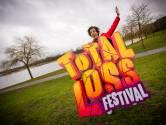 Snollebollekes krijgt eigen festival op Aquabest. Van links naar rechts in de open lucht