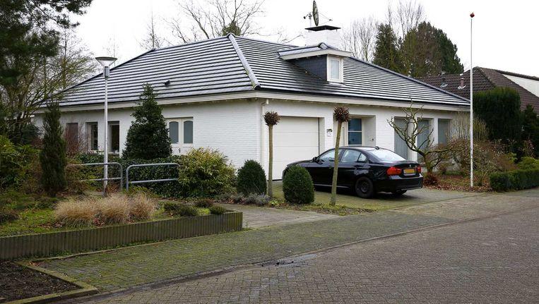 Een van de huizen van Henk Krol waarop beslag is gelegd. Beeld null