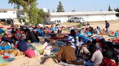 Hongerstakers in aangevallen migrantenkamp in Libië eisen evacuatie