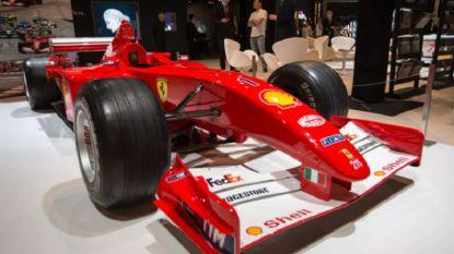 F1-bolide van Michael Schumacher voor recordbedrag geveild in New York