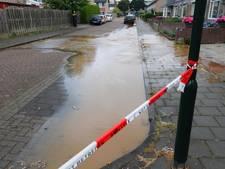 Kans op sinkhole door gesprongen waterleiding in Veldhoven