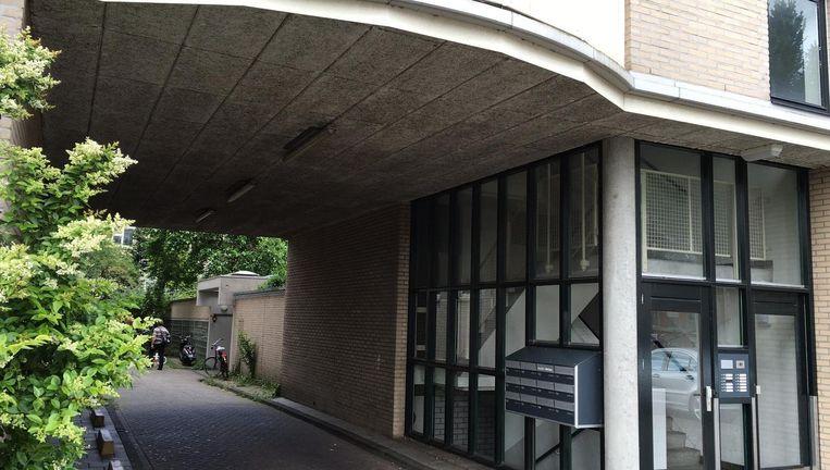 De steeg waar de schietpartij begon Beeld Maarten van Dun