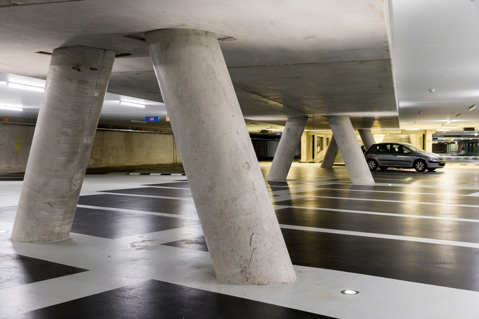 De Sint-Jan parkeergarage in Den Bosch