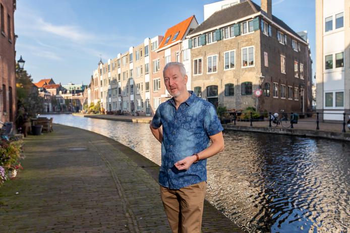 """Sander Groen: ,,De Schie is 'n poëtische plek."""""""