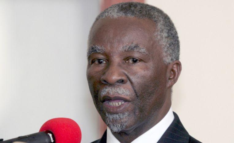Thabo Mbeki Foto EPA/Philip Dhil Beeld