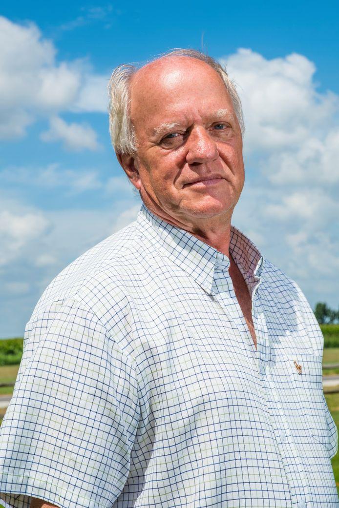 Huub Verberk, opsteller en indiener van het burgerinitiatief 'Durf te kiezen!' in Oldebroek, hier op archieffoto.