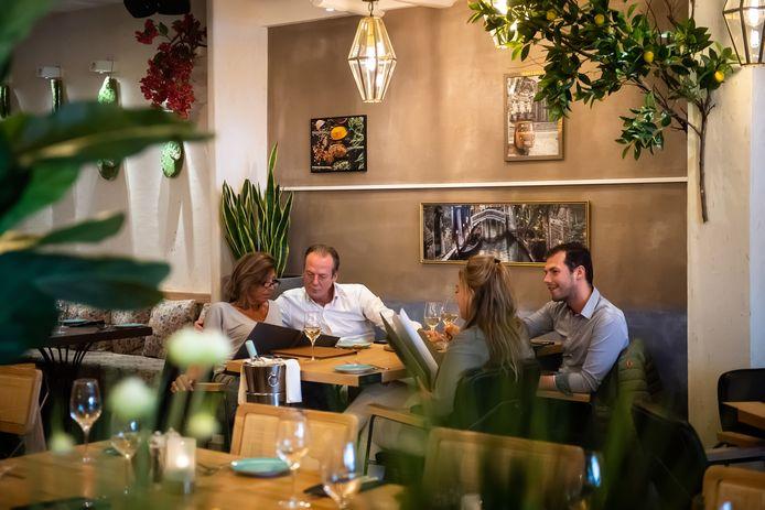 Restaurant Sabores aan de Grote Markt in Breda.