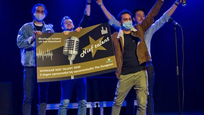 Last Living Souls uit Olen wint eerste editie van muziekwedstrijd 'Nief Talent'