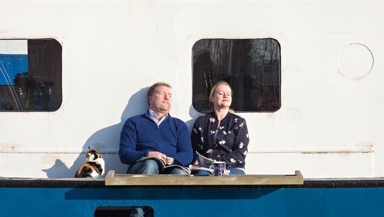 Wonen Op Woonboot : Wonen in een woonboot op het ij: ik ben wel eens duizelig de