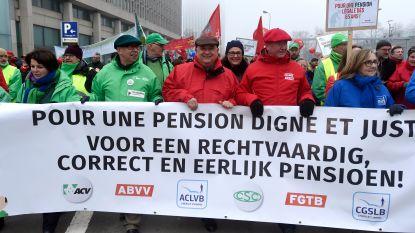 Vakbonden kondigen pensioenactie aan