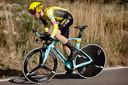 Steven Kruijswijk werd eerder dit jaar vierde in de tijdrit van de Vuelta a Andalucia. Voor onder meer Adam Yates.