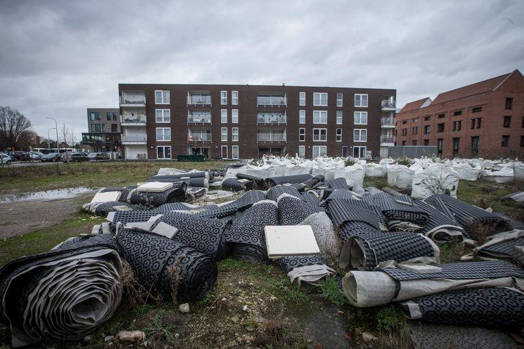 Appartementsblok van de Gentse sociale huisvestingsmaatschappij in de Nadine Crappéstraat.