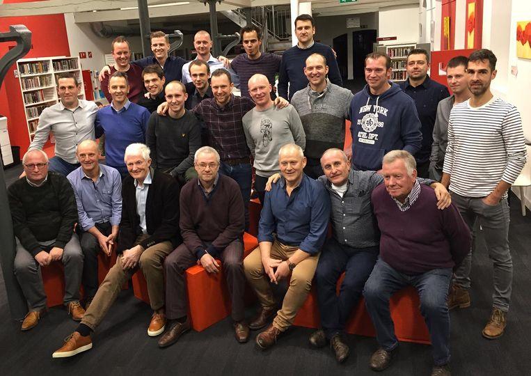 40 jaar voetbalclub Familie Maes.