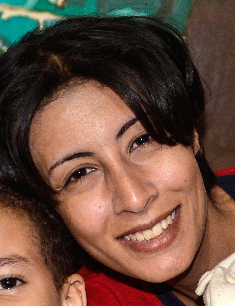 Een foto van el-Sabbagh ter beschikking gesteld door haar familie Beeld afp