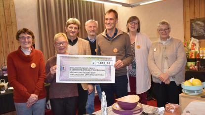 Wereldwinkel schenkt 1.000 euro aan Difam
