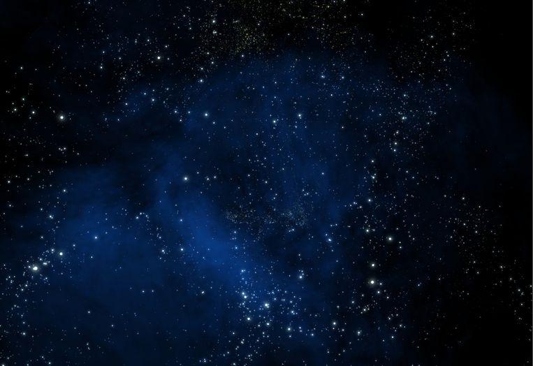 Archiefbeeld van een (willekeurige) sterrenhemel.