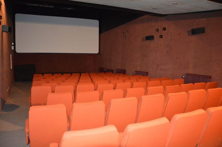 De zaal beneden van Cinema Central.