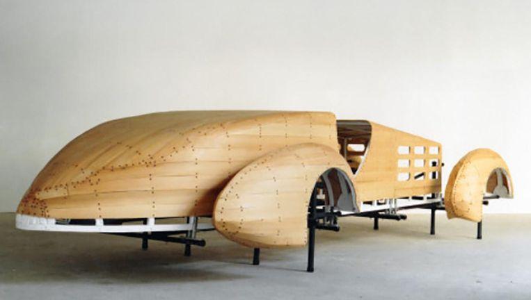 Ron van der Ende, 'Auto (Constructie 1/Hispano Suiza), 1988. Richtprijs 3.000-5.000 euro. Beeld Venduehuis Den Haag