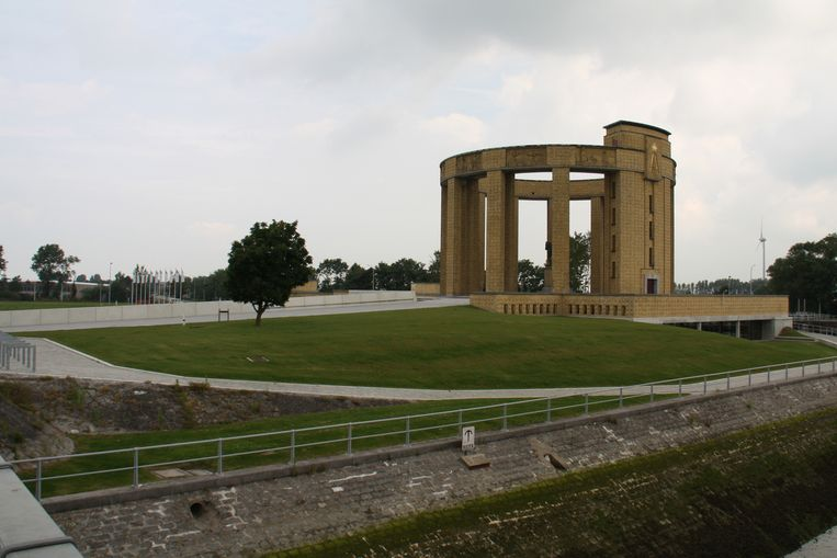 Albert I-monument in Nieuwpoort