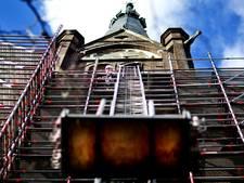 Nog een Delftse kerk in de steigers