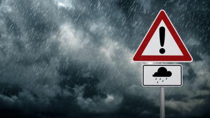 KMI waarschuwt met 'code geel' voor onweer en overvloedige regen