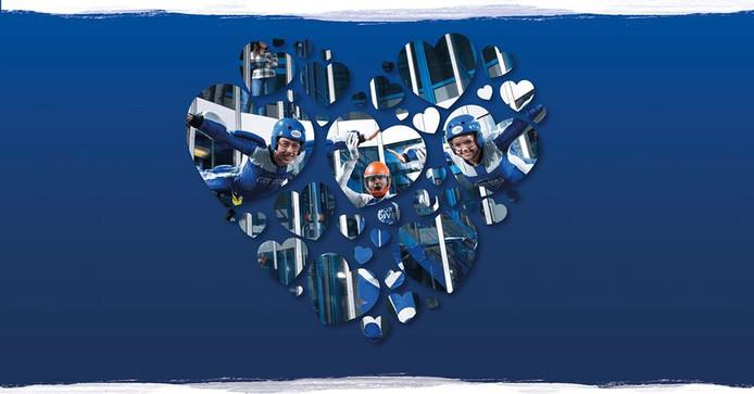 Met Valentijnsdag kun je samen met je geliefde skydiven in Roosendaal.