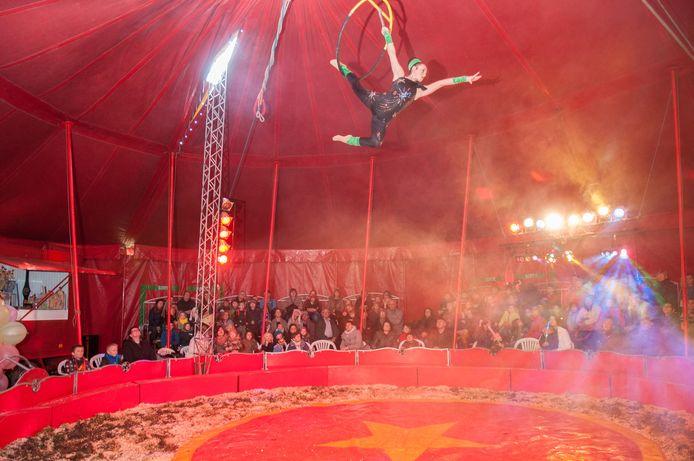 Spektakel verzekerd tijdens circus Pepino.