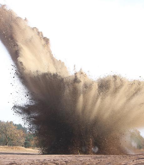Tiener neemt gevonden explosief op Grebbeberg mee naar huis