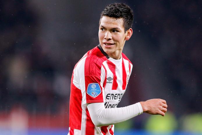 Hirving Lozano is naar verwachting gewoon inzetbaar op zaterdag, als PSV tegen sc Heerenveen speelt.