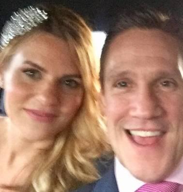Michael Evangelou stuurde app naar wildvreemde Lina en is nu met haar getrouwd