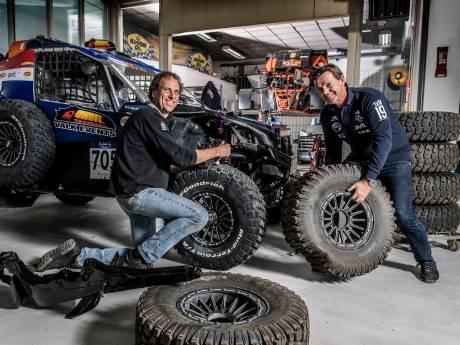 Gert-Jan en Branco crossen voor het eerst op Le Dakar, het zwaarste van het zwaarste: 'Alleen maar paadjes, ravijn in, rotsen, ellende'