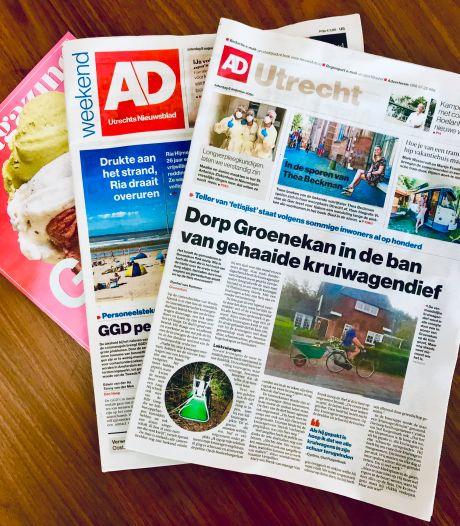 Hoe goed leest u het AD Utrechts Nieuwsblad?