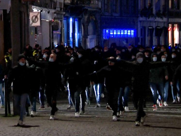 """Voetbalsupporters als burgerwacht in Nederlandse steden: """"Wij zijn hier om de stad te beschermen"""""""