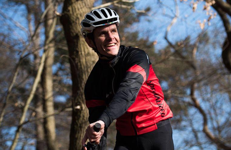 Patrick Jansen, terreinfietser. Beeld Trouw