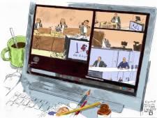 Pers op afstand bij rechtszaak Ruinerwold: 'Videoverbinding wordt nog belangrijker'