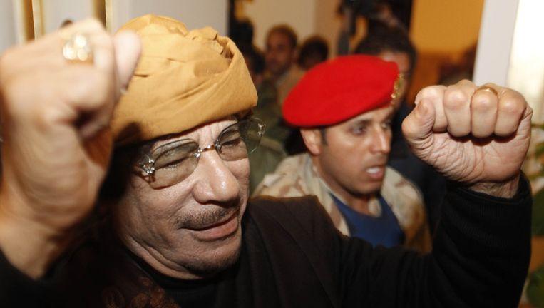 Kadhafi. Beeld afp