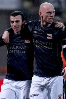 Gedegen GA Eagles schiet weinig op met punt na boeiend duel in Volendam