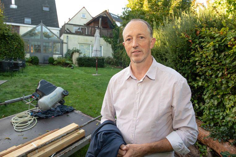 Initiatiefnemer Luc Wachtelaar, uitbater van het hotel Horenbecca, was drie maand geleden zelf het slachtoffer van inbrekers.