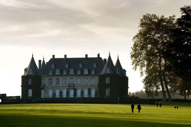 Het kasteel en omliggende park van Ter Hulpen (La Hulpe). (archieffoto)
