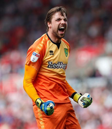 Tim Krul en Norwich City op rand Premier League