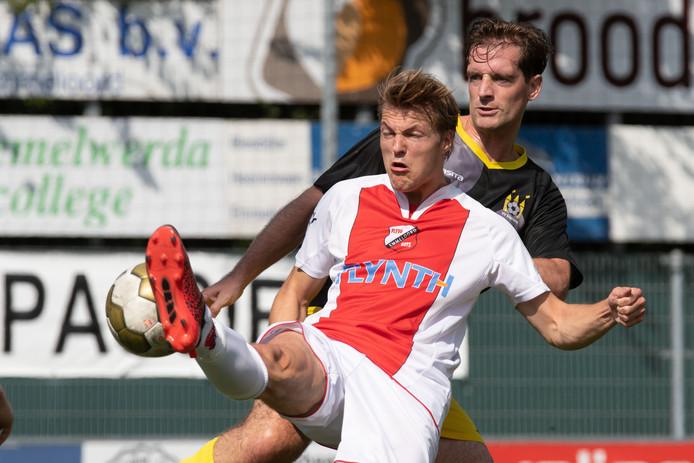 Frank Post (foto) in de wedstrijd tegen Staphorst.