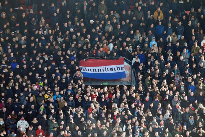 De fanatieke aanhang van FC Utrecht