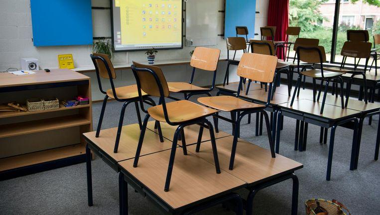 In Amsterdam werd afgelopen half jaar 182 keer een klas naar huis gestuurd omdat er geen juf of meester was. Beeld ANP