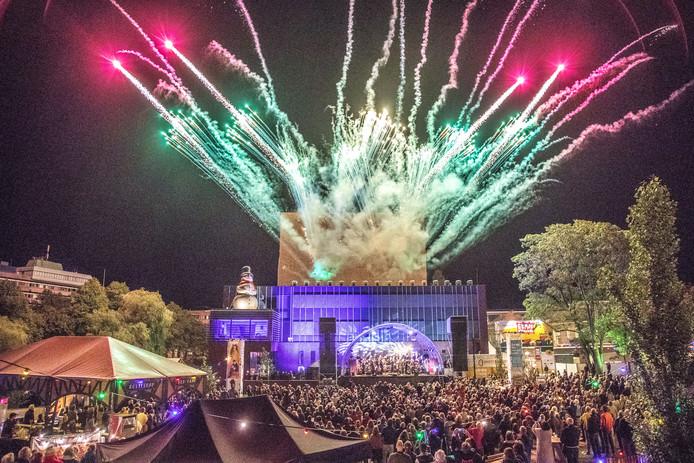 Afsluitend concert van het Orkest van het Oosten en Steef de Jong tijdens het Stadsfestival in Zwolle, vorig jaar.