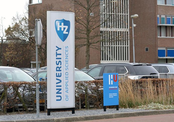 De Hogeschool Zeeland in Vlissingen.