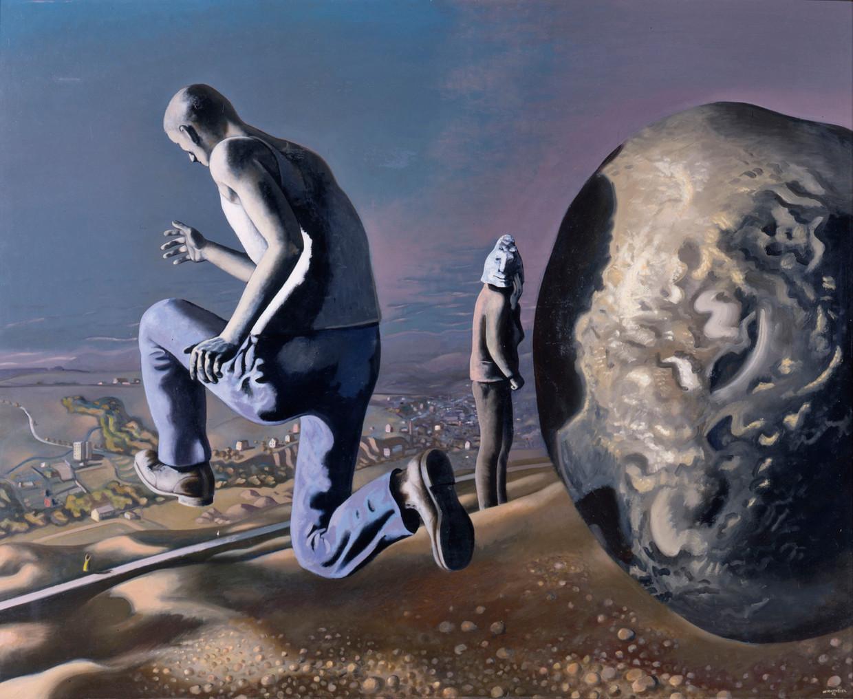 Wolfgang Mattheuer, 'Die Flucht des Sisyphos', 1972