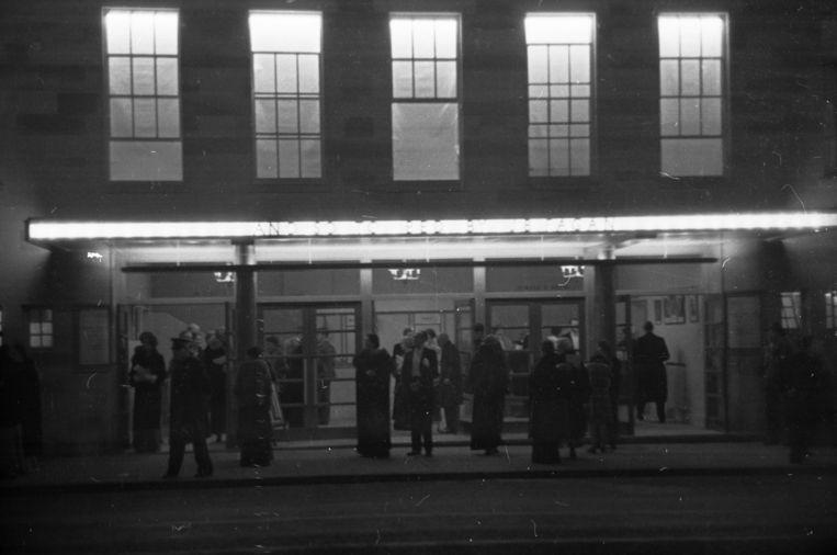 Thee Oxford Playhouse bij de opening in 1938. Beeld Getty Images