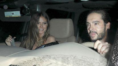 Heidi Klum bevestigt romance met Tokio Hotel-gitarist Tom Kaulitz